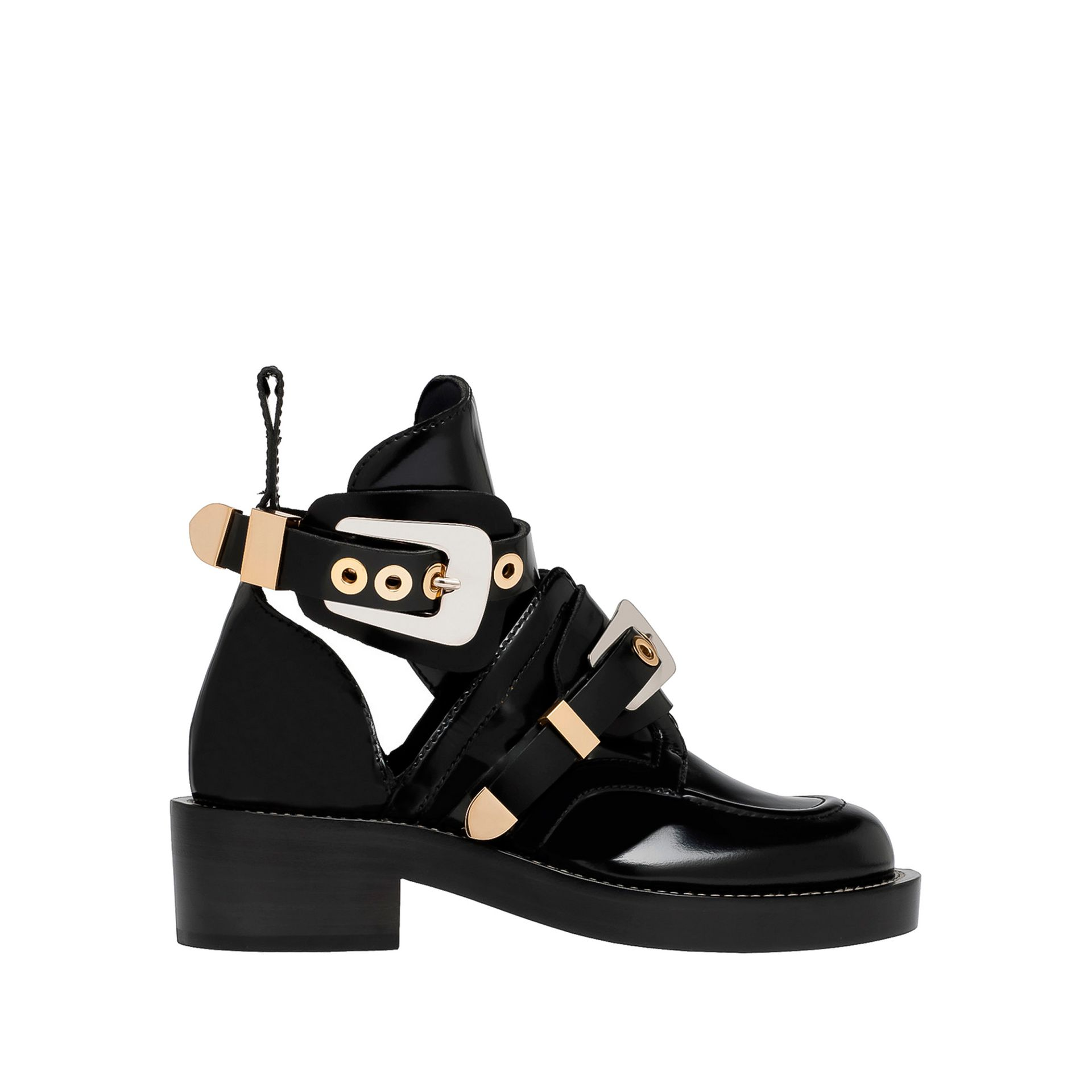 Black Shoe Boots Women