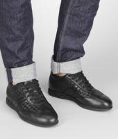 Intrecciato Speedster Calf Sneaker