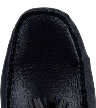 ERMENEGILDO ZEGNA: Loafers Blue - 44558579DF