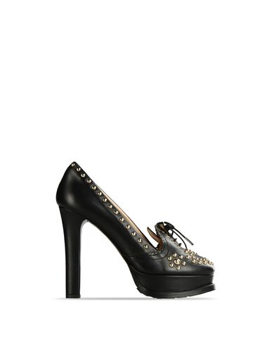 Moschino, Moccasins with heel