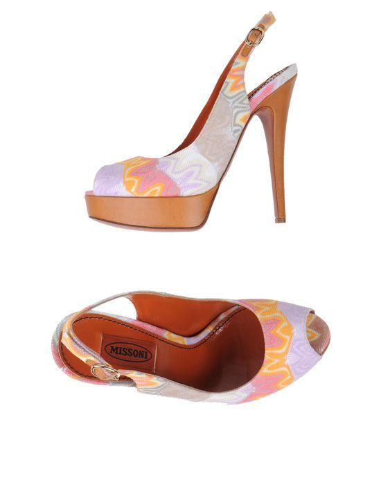 Женская Обувь - Босоножки MISSONI - Босоножки на платформе MISSONI купить в интернет магазине YOOX