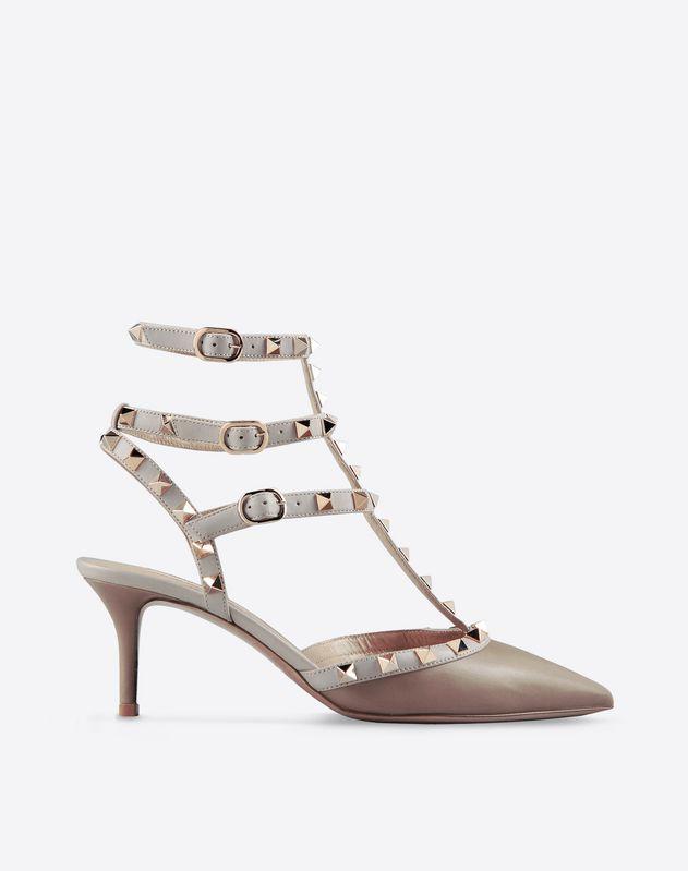 Solid color<br>Buckle<br>Leather sole<br>Metallic inserts<br>Narrow toeline<br>Spike heel<br> Women 44561975fl