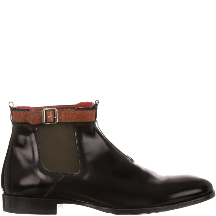 Alexander McQueen, Buckle Ankle Boot