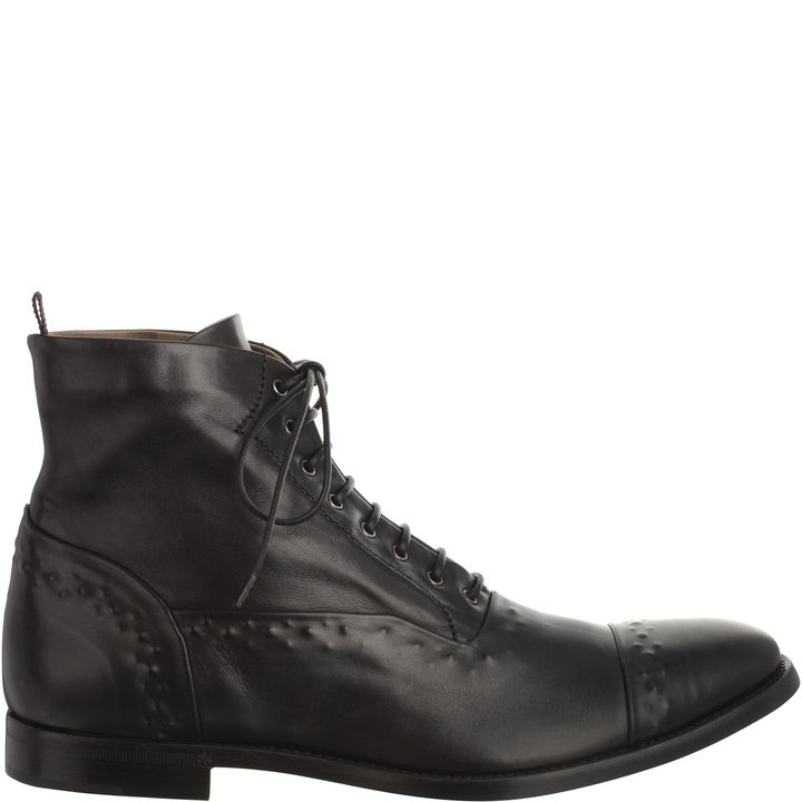 Alexander McQueen, Washed Leather Boot