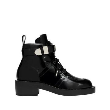 Balenciaga Ceinture Lace Ankle Boots