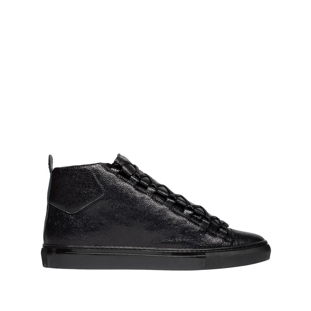 Sneakers Altas con Estampado Galuchat Balenciaga