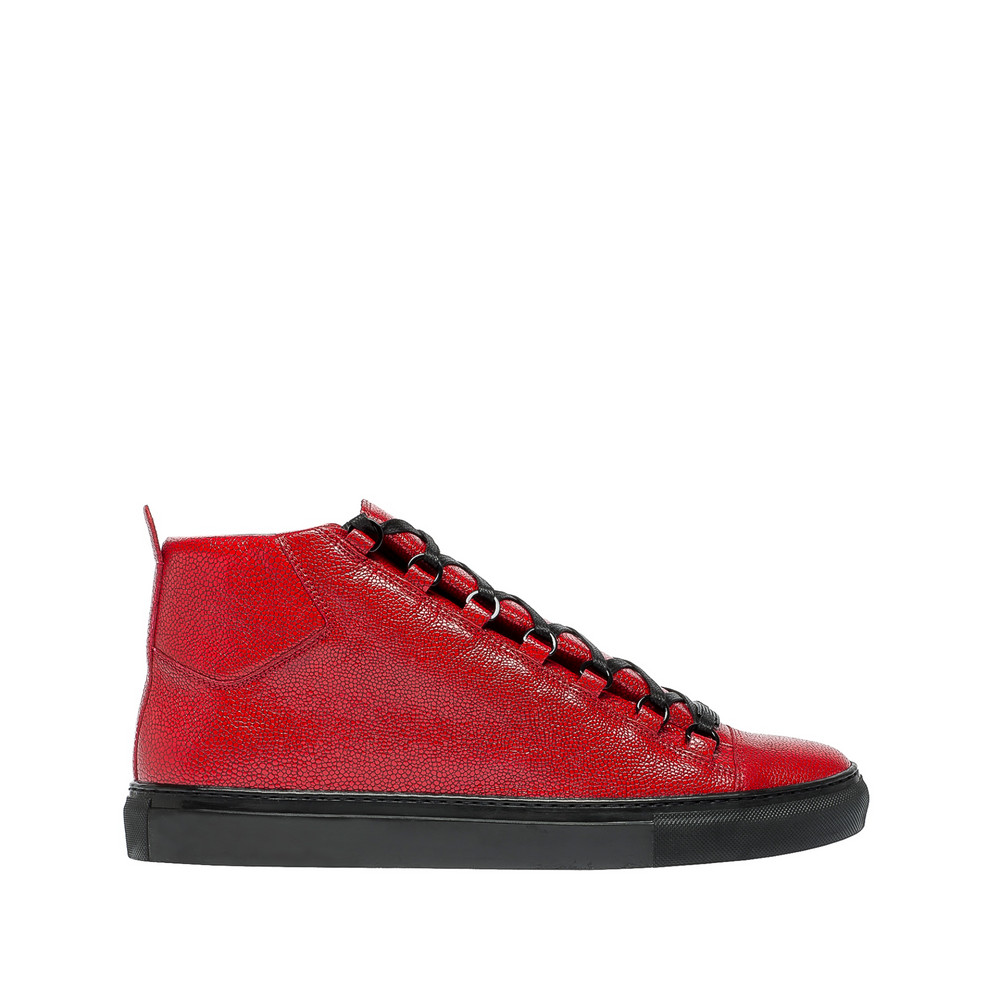 Balenciaga Sneakers Hautes Imprimé Galuchat