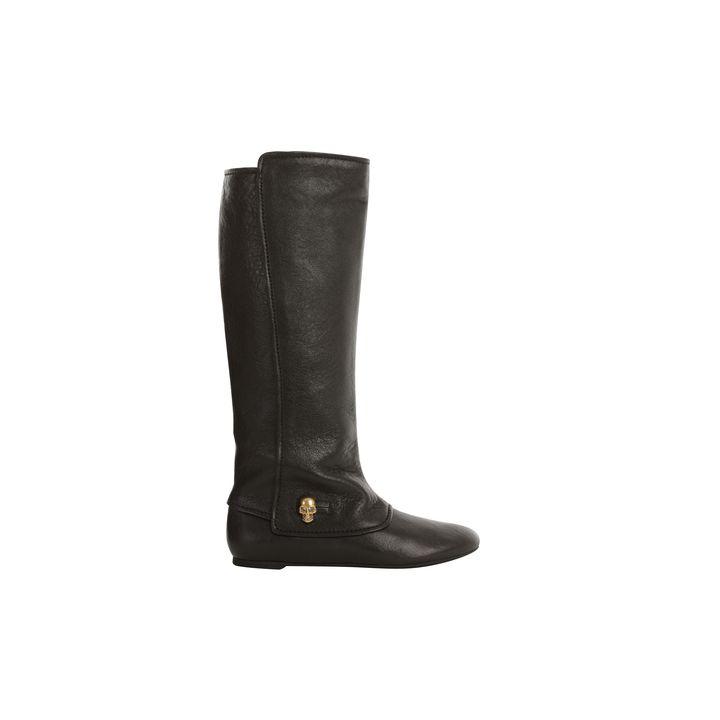 Alexander McQueen, Skull Charm Tall Boot