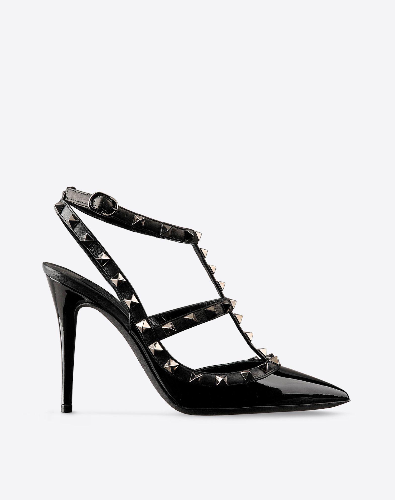 escarpin rockstud noir escarpin femme valentino garavani boutique en ligne valentino. Black Bedroom Furniture Sets. Home Design Ideas