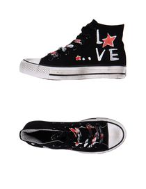SKULL STAR - High-tops