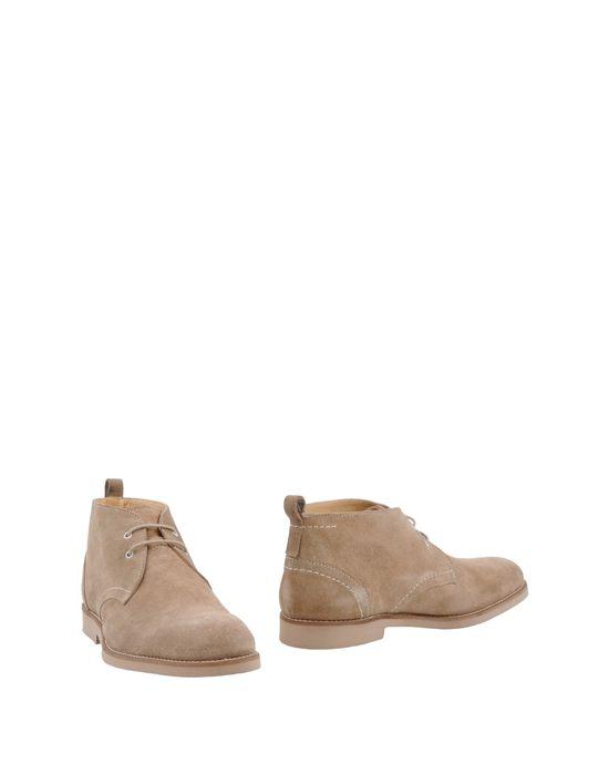 Ботинки бежевые мужские