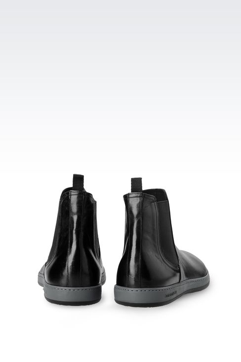 Shoes: Ankle boots Men by Armani - 3
