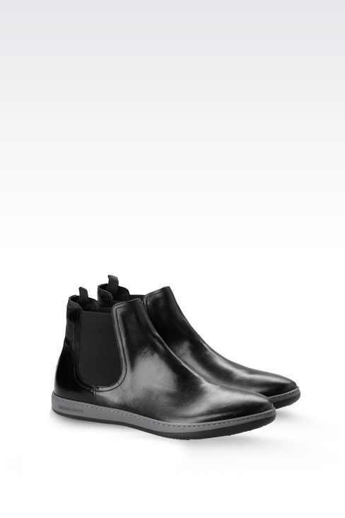 Shoes: Ankle boots Men by Armani - 2