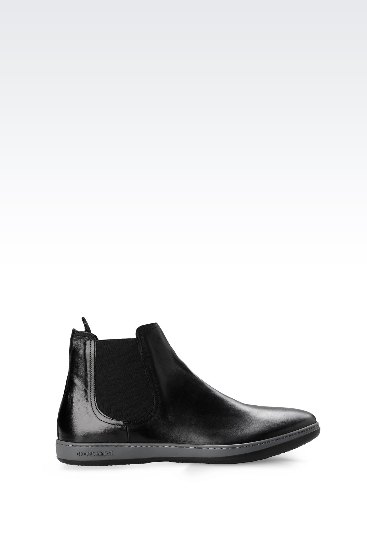 Shoes: Ankle boots Men by Armani - 0