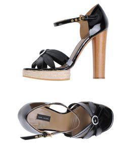 Sandalias con plataforma - MARC JACOBS EUR 235.00