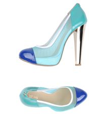 JUST CAVALLI - Platform pumps