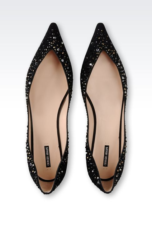 Shoes: Ballet flats Women by Armani - 3
