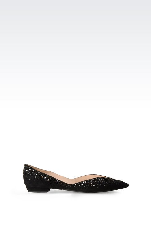Shoes: Ballet flats Women by Armani - 1