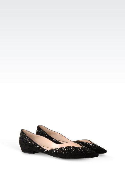 Shoes: Ballet flats Women by Armani - 2