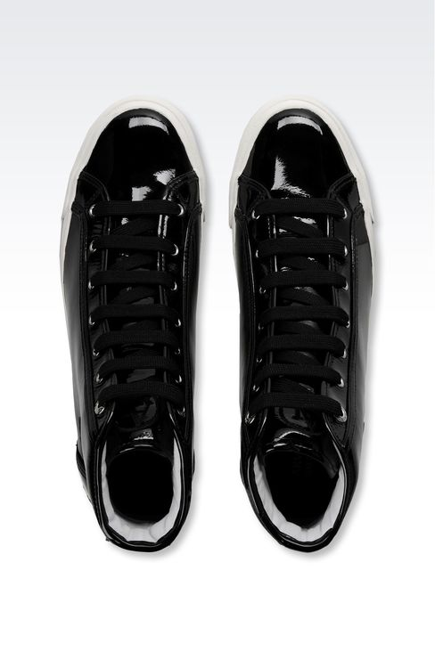 Shoes: High-top sneakers Women by Armani - 3