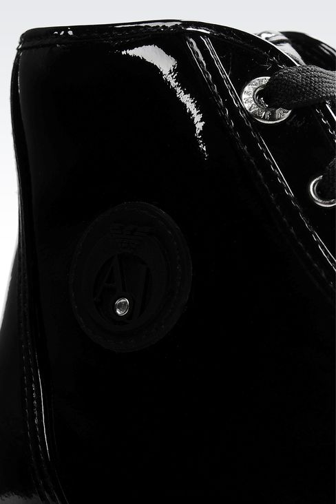 Shoes: High-top sneakers Women by Armani - 4