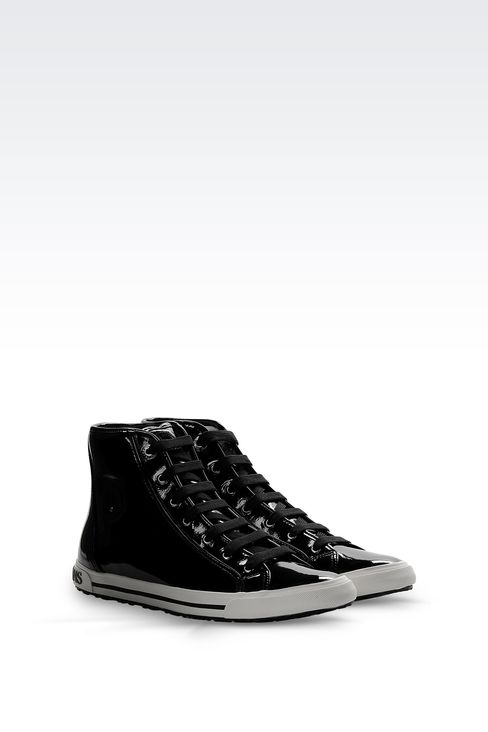 Shoes: High-top sneakers Women by Armani - 2