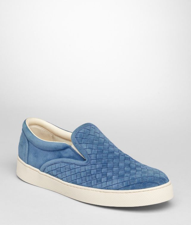 BOTTEGA VENETA Électrique Intrecciato Suede Sneaker Sneakers U fp