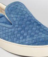 Électrique Intrecciato Suede Sneaker
