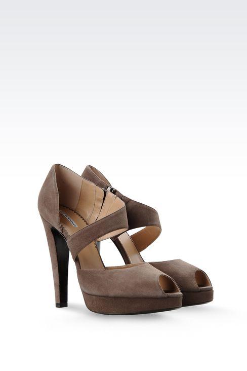 Shoes: Platform sandals Women by Armani - 2