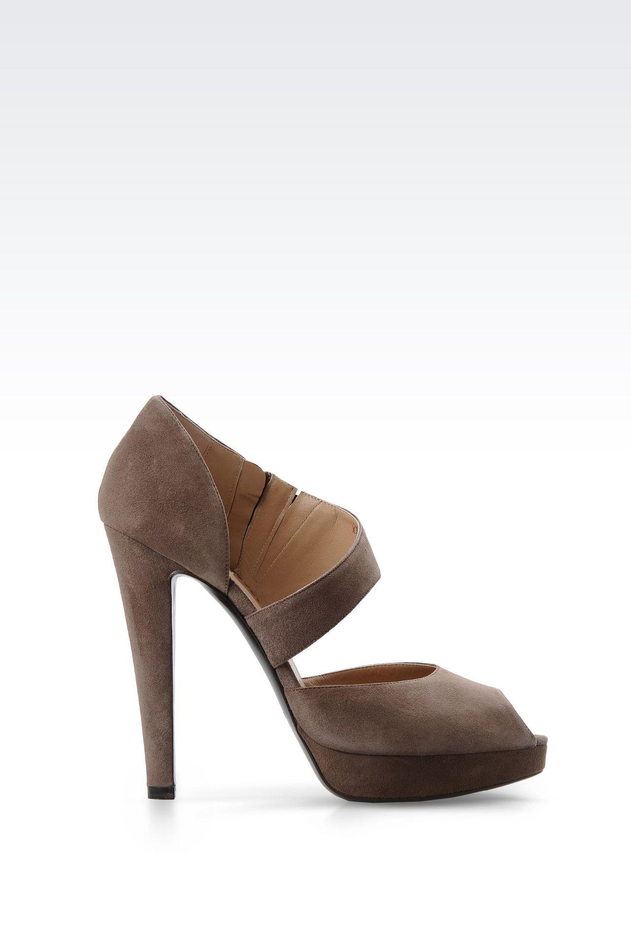 Shoes: Platform sandals Women by Armani - 0