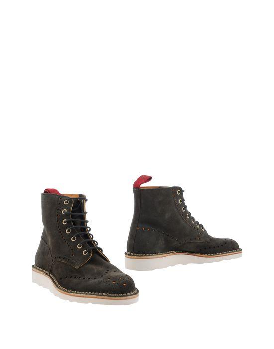 Полусапоги и высокие ботинки ESSEUTESSE. Цвет: темно-зеленый