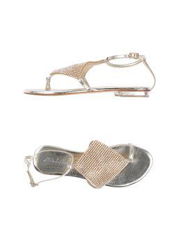 Sandalias de dedo - MICHELEDILOCO EUR 79.00