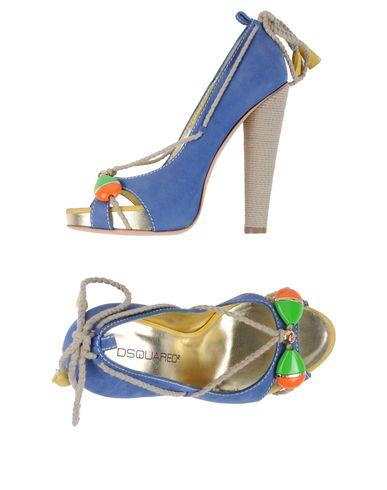 Туфли с открытым носком DSQUARED2 44595455CX