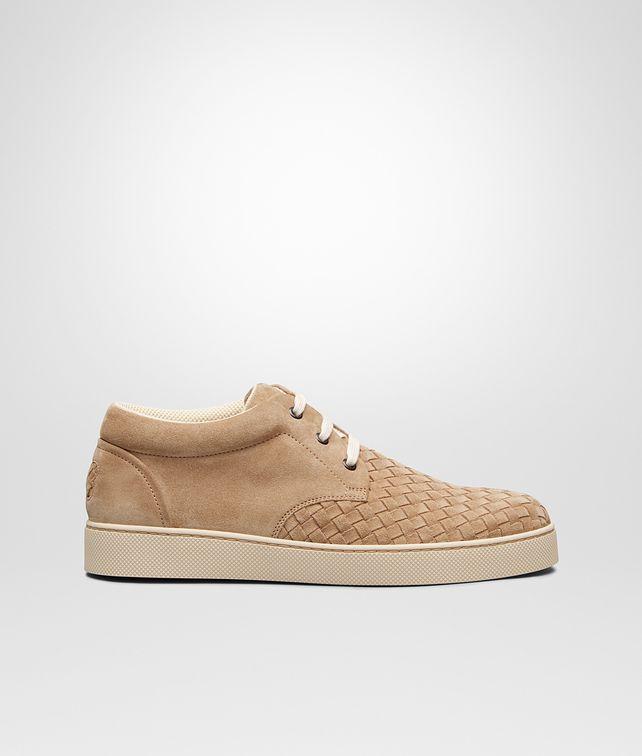 BOTTEGA VENETA Walnut Intrecciato Suede Sneaker Trainers U fp