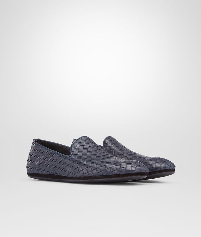 BOTTEGA VENETA Prusse Intrecciato Foulard Calf Outdoor Slipper Mocassin or Slipper U fp