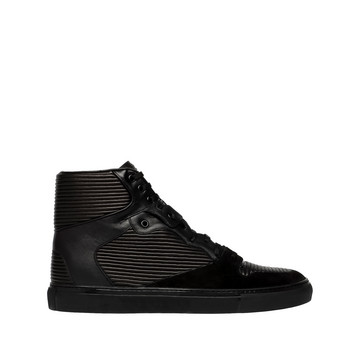 Balenciaga Cotes Monochrome High Sneakers