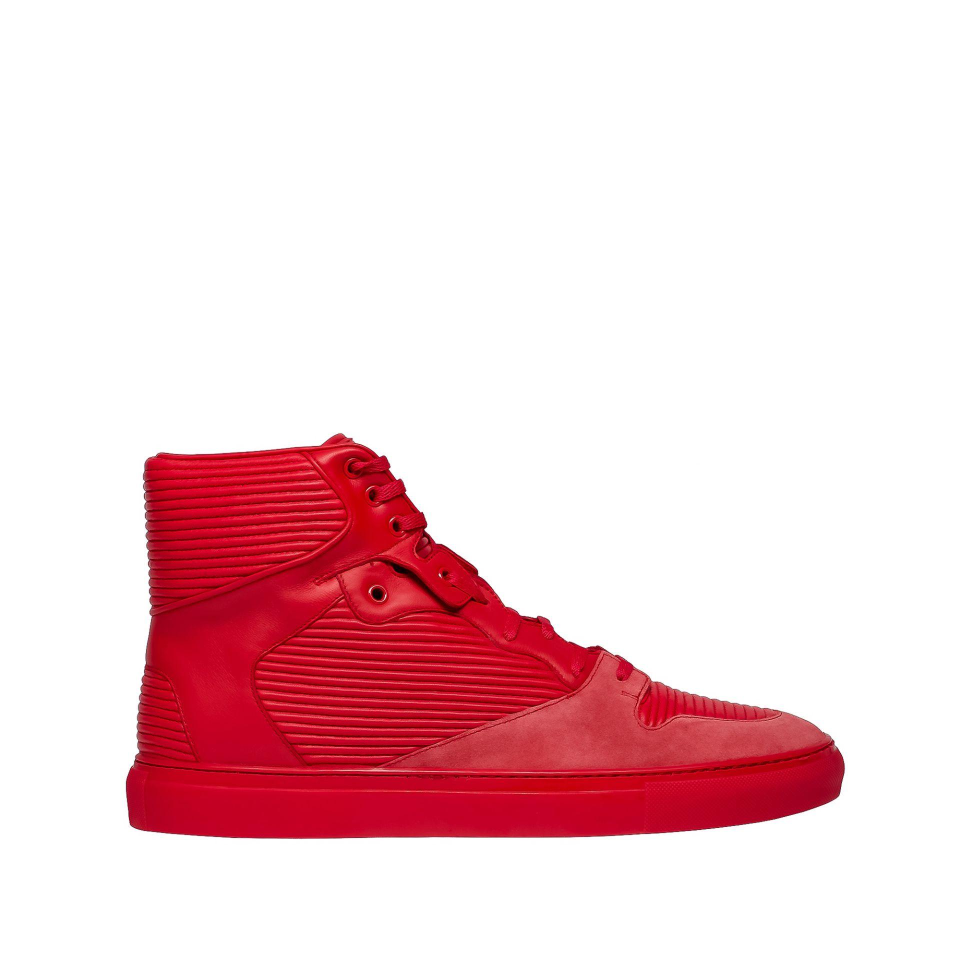 balenciaga cotes monochrome high sneakers men 39 s sneaker. Black Bedroom Furniture Sets. Home Design Ideas