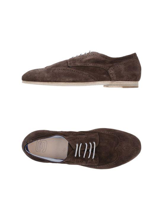 Обувь на шнурках ESSEUTESSE. Цвет: темно-коричневый