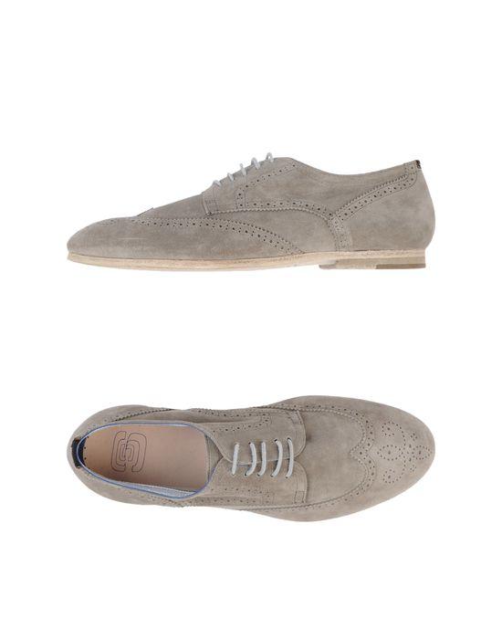Обувь на шнурках ESSEUTESSE. Цвет: светло-серый