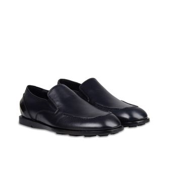 ZZEGNA: Loafers Black - 44599110HF