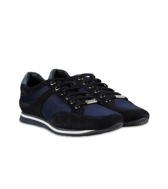 ZEGNA SPORT: Sneakers Black - Dark brown - 44599114XB