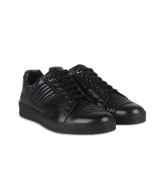 ZEGNA SPORT: Sneakers Black - Dark brown - 44599133DQ
