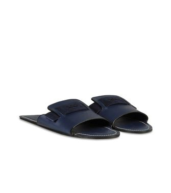ERMENEGILDO ZEGNA: Slippers Dove grey - 44599139EE