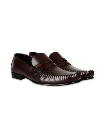 ERMENEGILDO ZEGNA: Loafers Dark brown - 44599150RJ