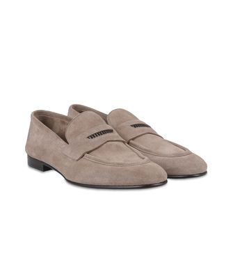 ERMENEGILDO ZEGNA: Loafers Dove grey - 44599151PE