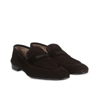 ERMENEGILDO ZEGNA: Loafers Dark brown - 44599160EQ