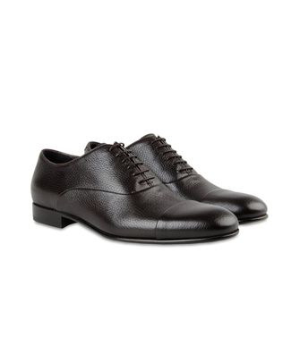 ERMENEGILDO ZEGNA: Laced shoes Dark brown - 44599162TF