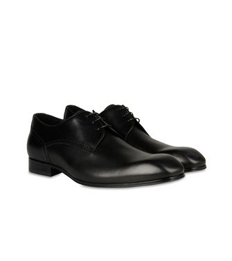 ZZEGNA: Laced shoes Black - 44599180QO