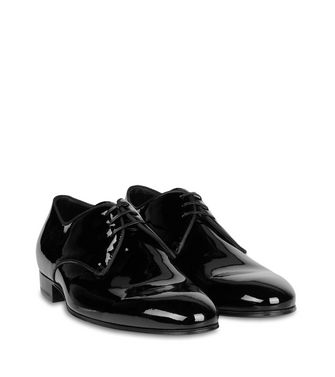 ERMENEGILDO ZEGNA: Laced shoes Black - 44599181CU