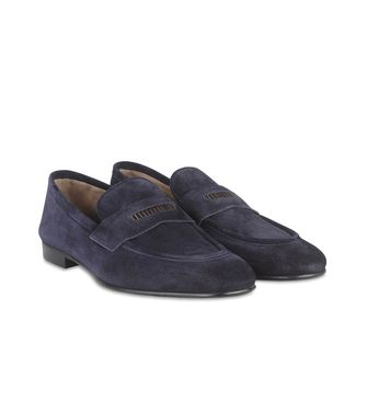 ERMENEGILDO ZEGNA: Loafers Grey - 44599201BV